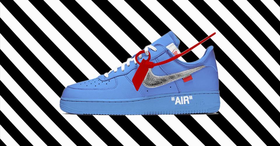 Off White x Nike Air Force 1 'University Blue' | CI1173 400