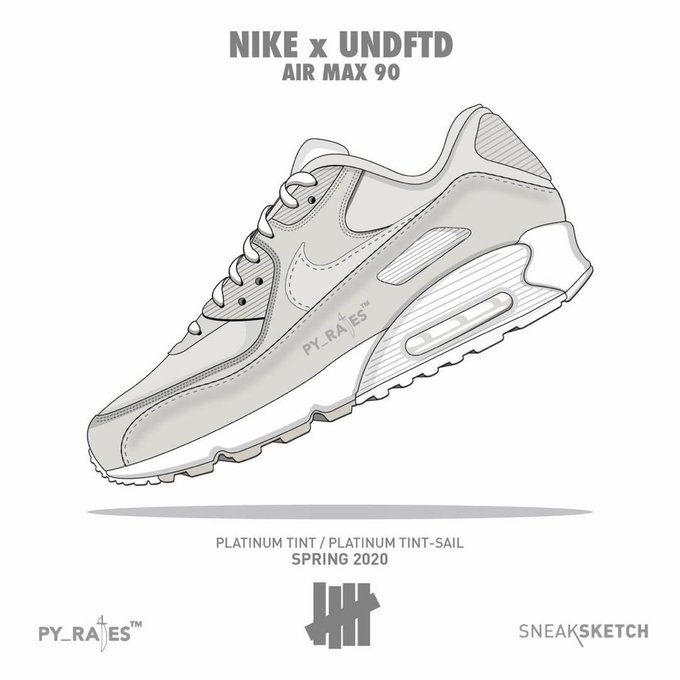 UNDEFEATED x Nike Air Max 90 komt in 2020 | Sneakerjagers