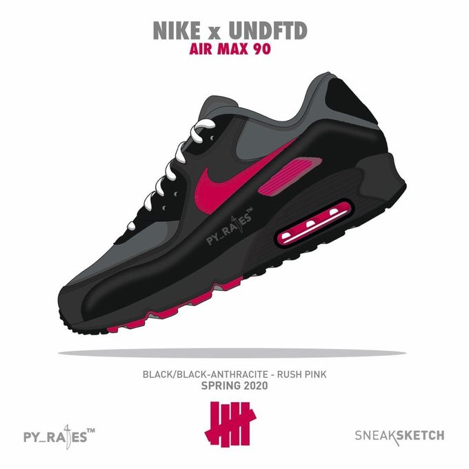 UNDEFEATED x Nike Air Max 90 komt in 2020   Sneakerjagers