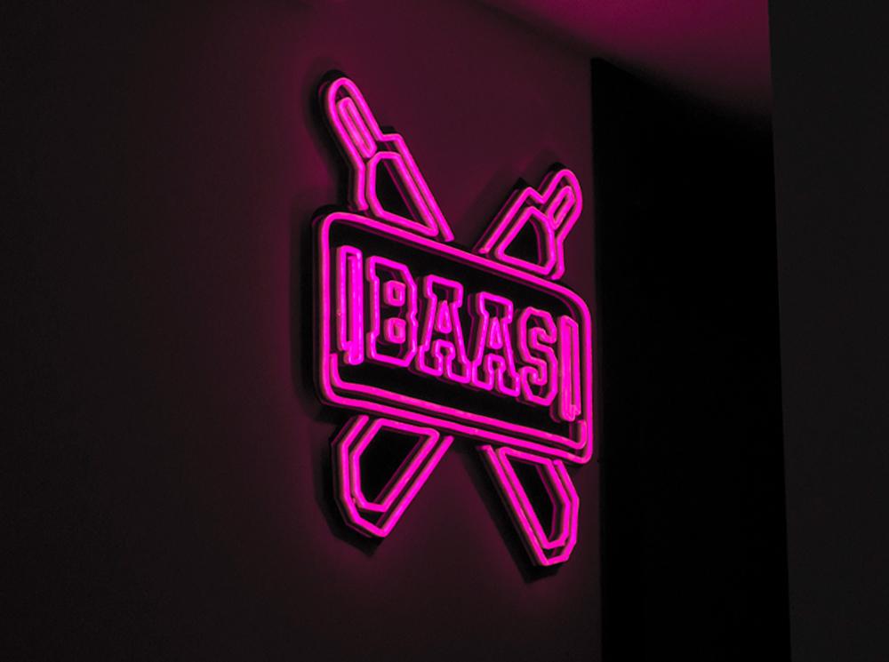 Nieuwe SneakerBAAS logo