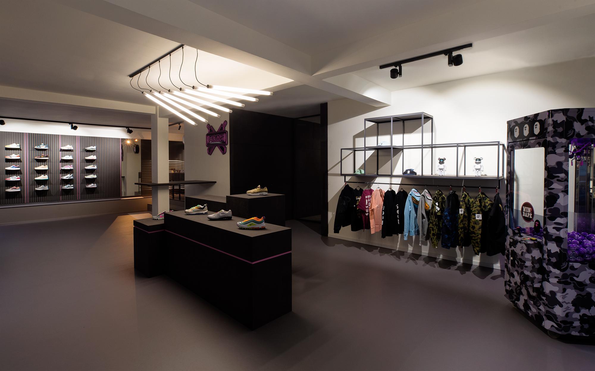 Nieuwe SneakerBAAS store