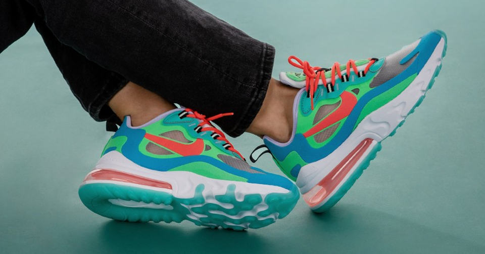 Release Reminder: Nike Air Max 270 React | Sneakerjagers