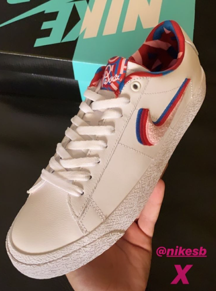 Parra x Nike SB Blazer Low
