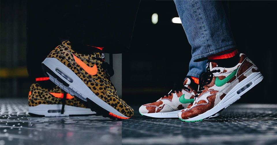 Air Max 1 'animal Pack 3.0 Leopard' Shoes Size 4