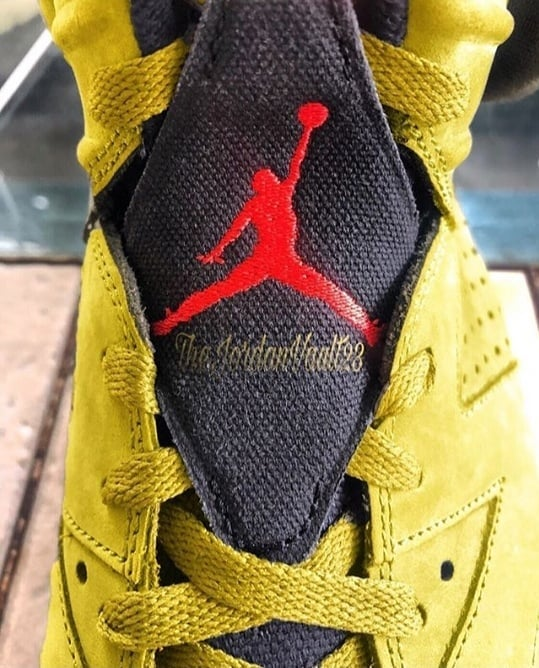 Air Jordan 6 'Yellow Cactus Jack'
