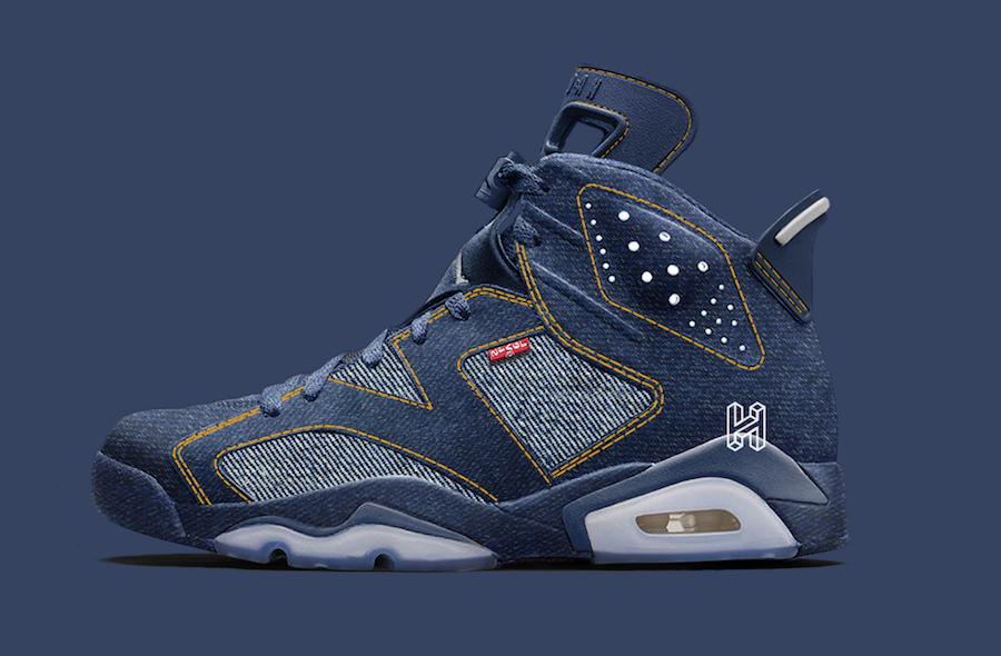 Air Jordan 6 'Levi's'