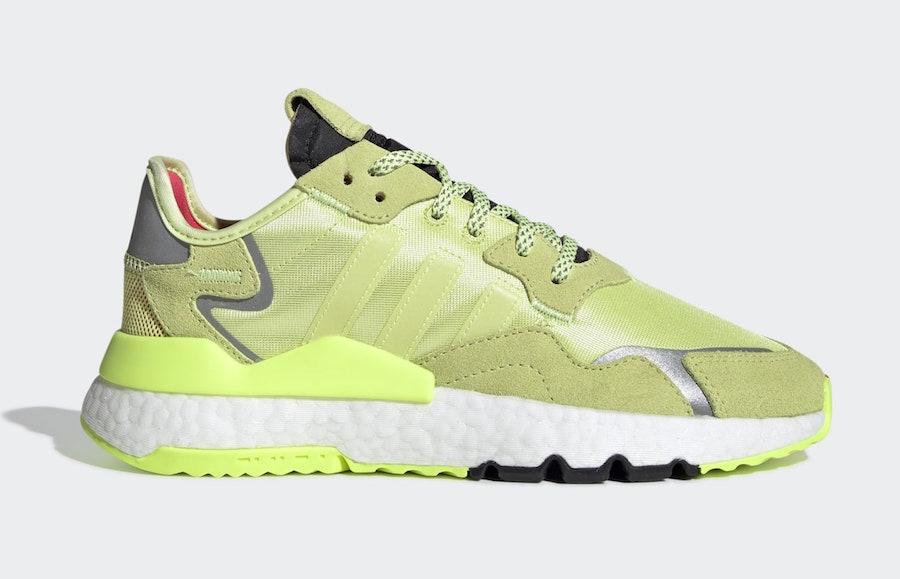 Adidas Nite Jogger 'Semi Frozen Yellow'