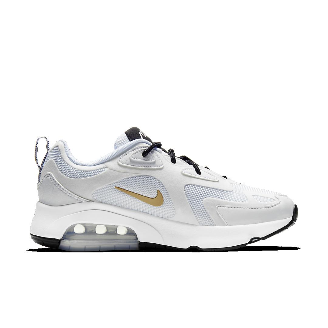 Nu beschikbaar: WMNS Nike Air Max 200 in 'White/Gold ...