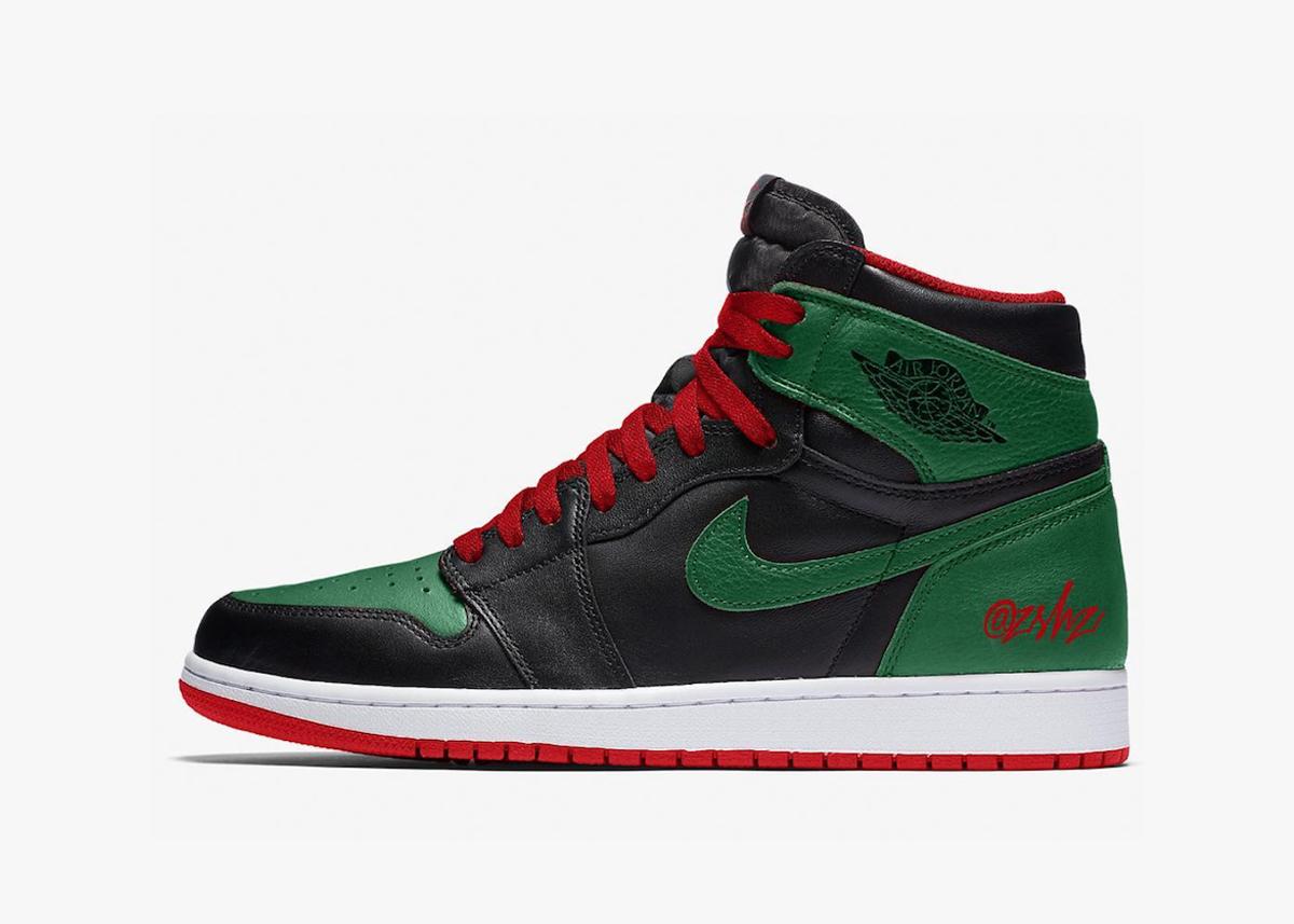 Air Jordan 1 'Pine Green'