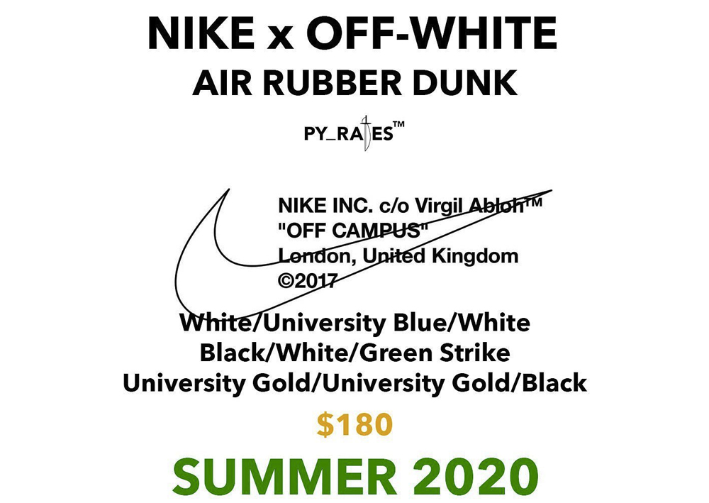 Air Rubber Dunk