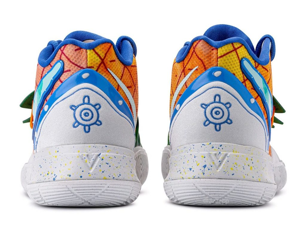 Spongebob x Nike Kyrie 5 'Pineapple House'