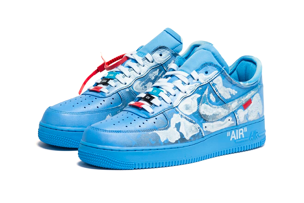 Virgil Abloh x MCA Chicago x Cassius Hirst x Nike Air Force 1 '07