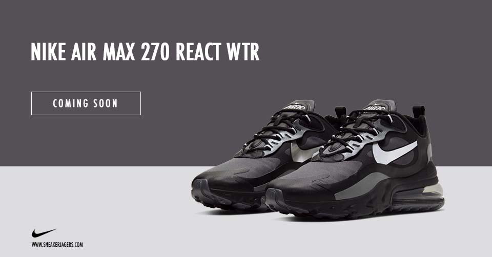 De winterproof Nike Air Max 270 React WTR   Sneakerjagers