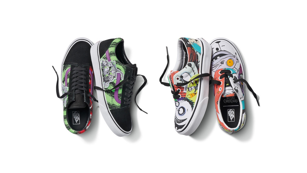 Nightmare Before Christmas x Vans
