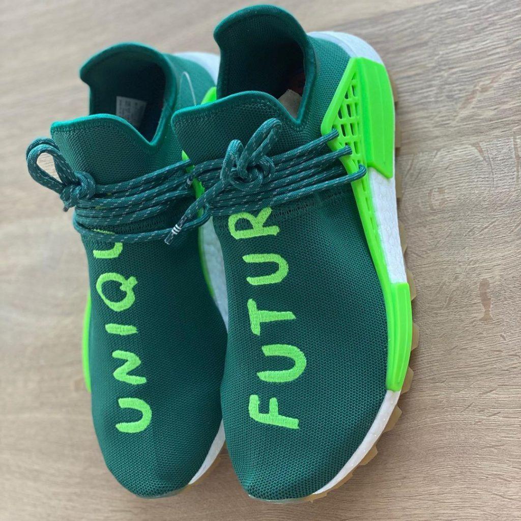 "Pharrell x adidas NMD Hu ""Unique Future"""