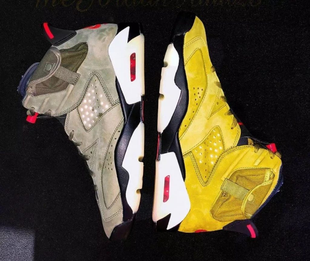 Travis Scott x Air Jordan 6 'Yellow'