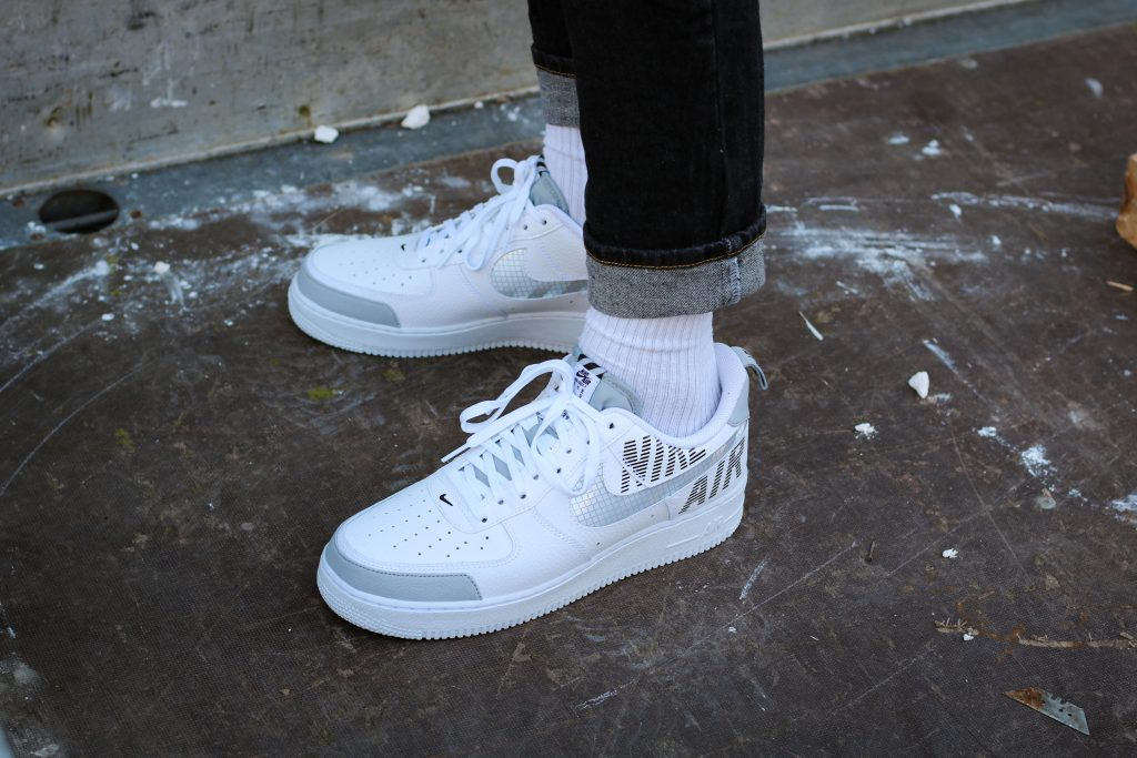 Nike Air Force 1 Low Under Construction 'White'