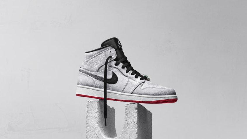 "CLOT x Air Jordan 1 Mid SE ""Fearless"""