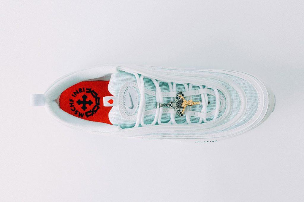 MSCHF x INRI Air Max 97 'Jesus Shoes'
