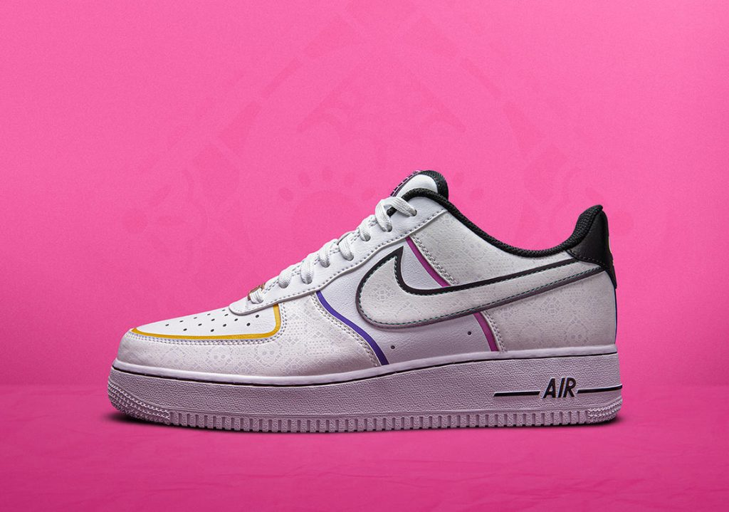 "Air Force 1 Low ""La Calaca"" ""Day of the Dead"" pack"