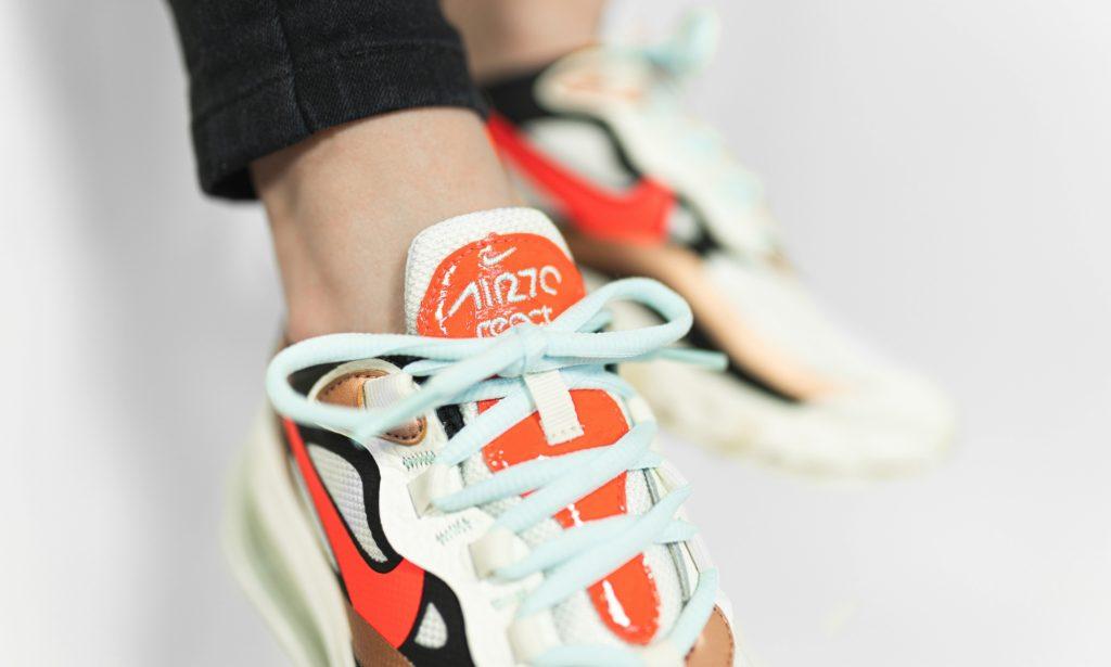 Nike Air Max 270 React Pure Platinum