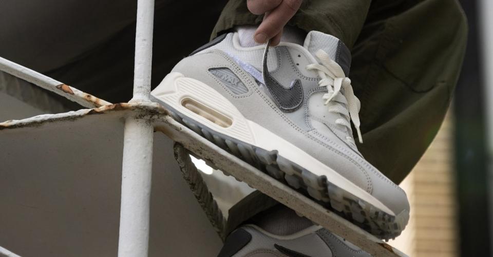 Release Reminder van de BSMNT x Nike Air Max 90 'London