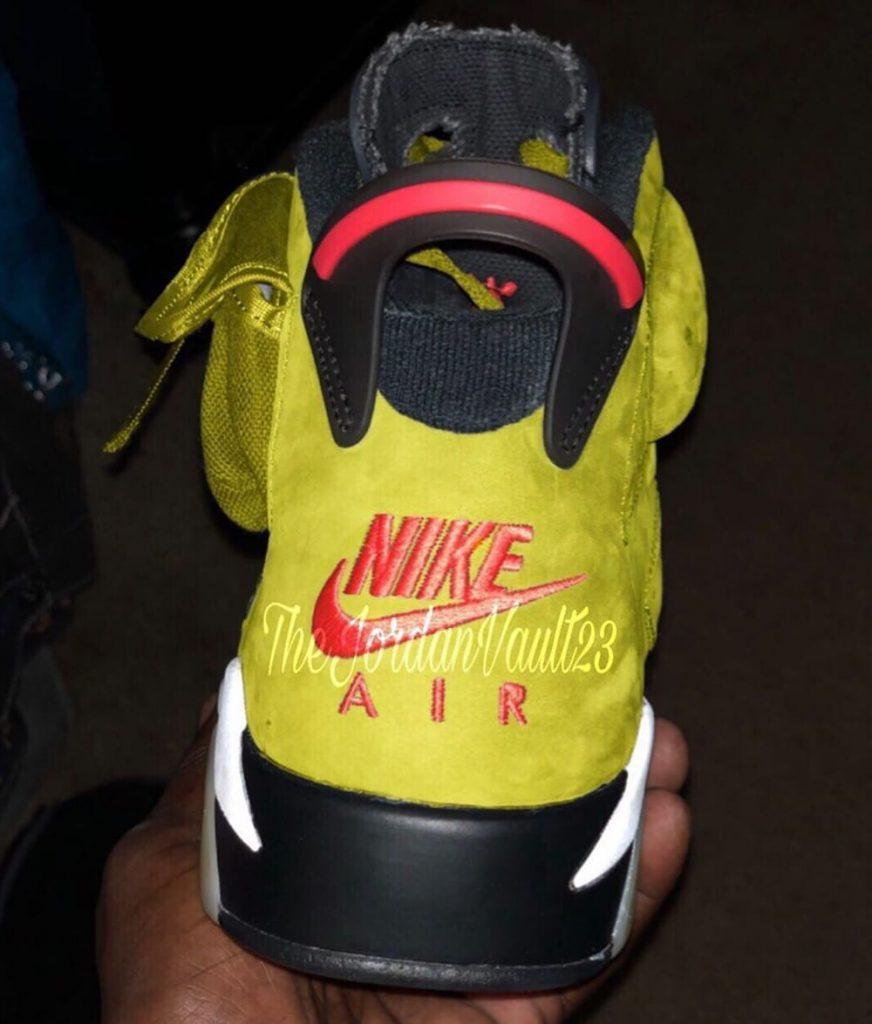 Travis Scott x Air Jordan 6 'Yellow'