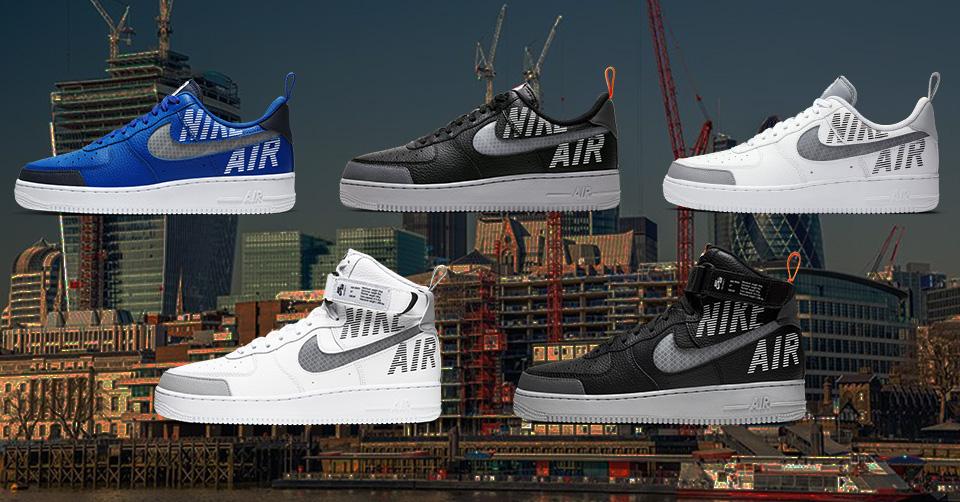 Nike komt met een Air Force 1 'Under Construction' pack