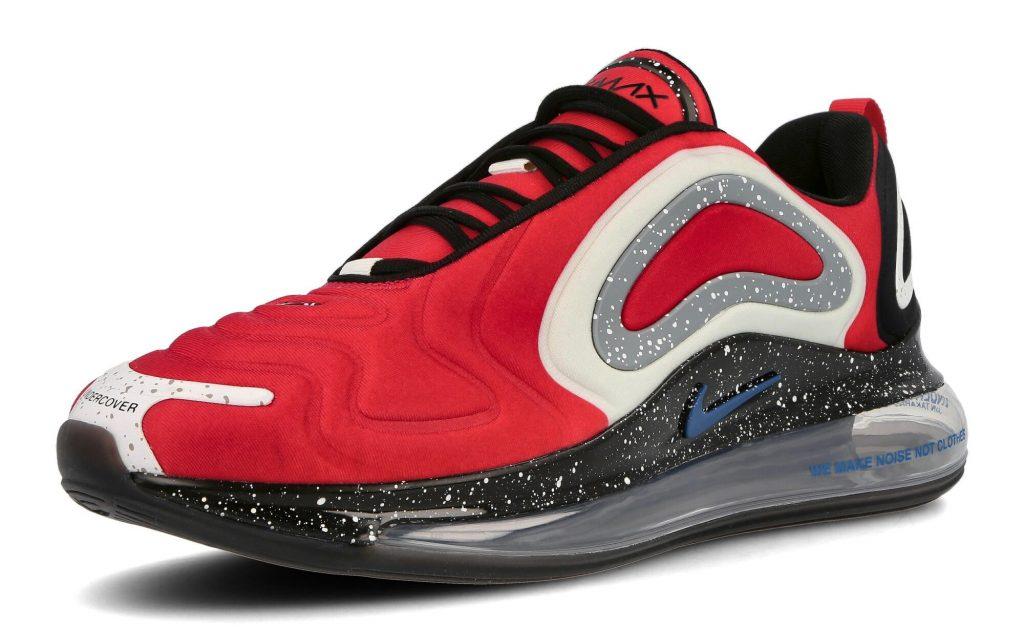 De UNDERCOVER x Nike Air Max 720 collectie komt met