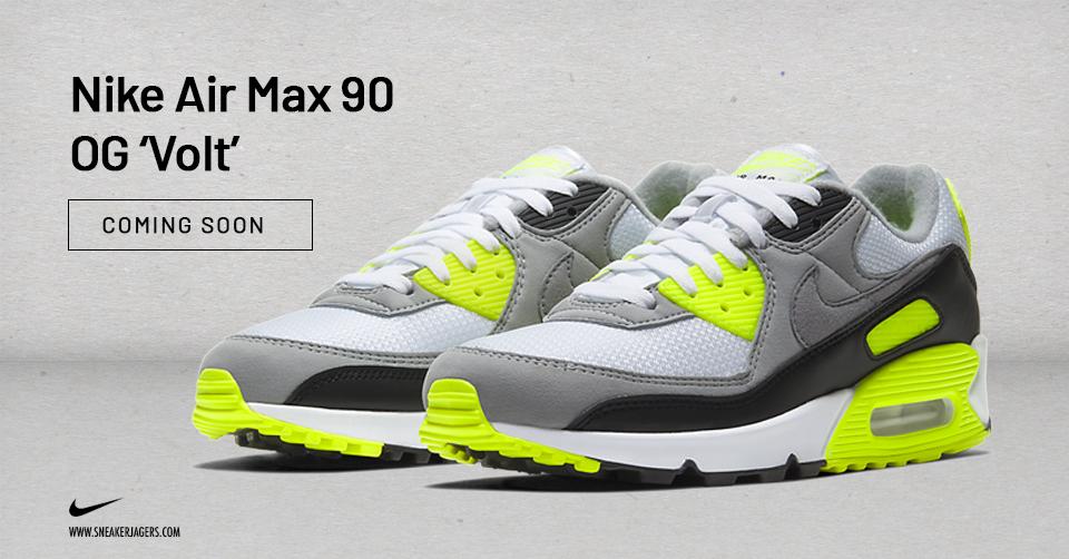 Nike viert in 2020 het 30 jarige jubileum van de Air Max 90 ...