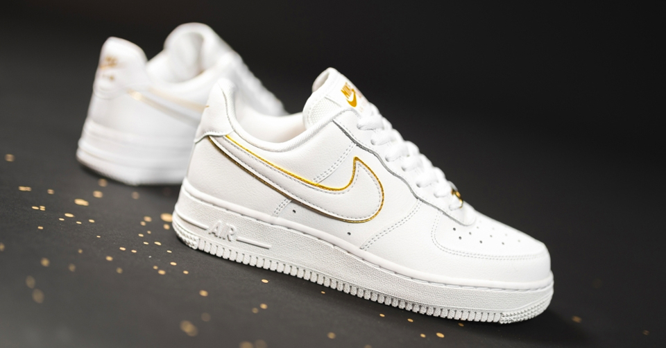 wit zwart en goud air force 1 factory outlet c8780 28756
