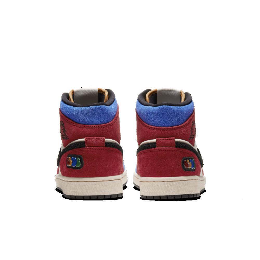 Blue the Great x Air Jordan 1 Mid 'Fearless' | CU2805-100