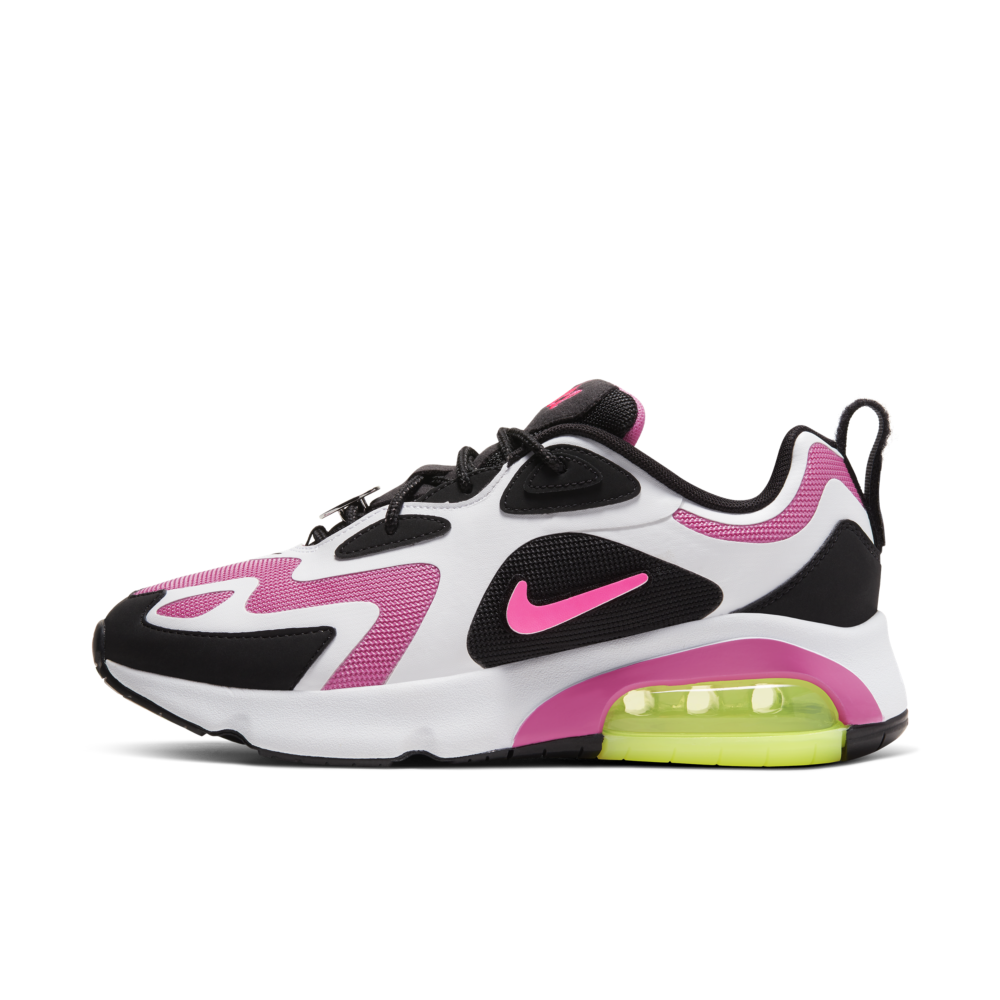 Nike Air Max 200 'Black/Pink' | CU4745-001