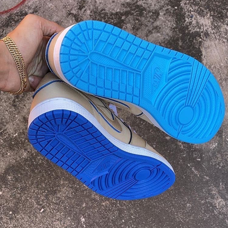 Nike SB x Air Jordan 1 Low 'Desert Ore' | CJ7891-200
