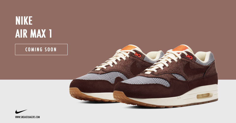 Nike Air Max 1 Houndstooth CT1207 200 Release Date Info