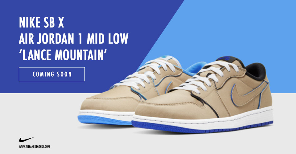 Officiële foto's van de Nike SB x Air Jordan 1 Low 'Lance