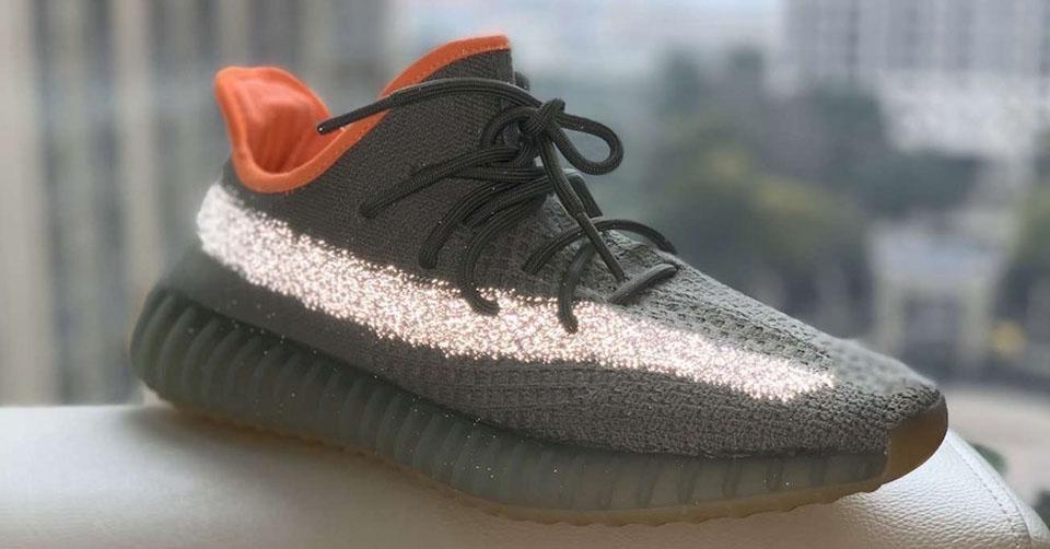Betere beelden van de adidas Yeezy Boost 350 V2 'Desert Sage