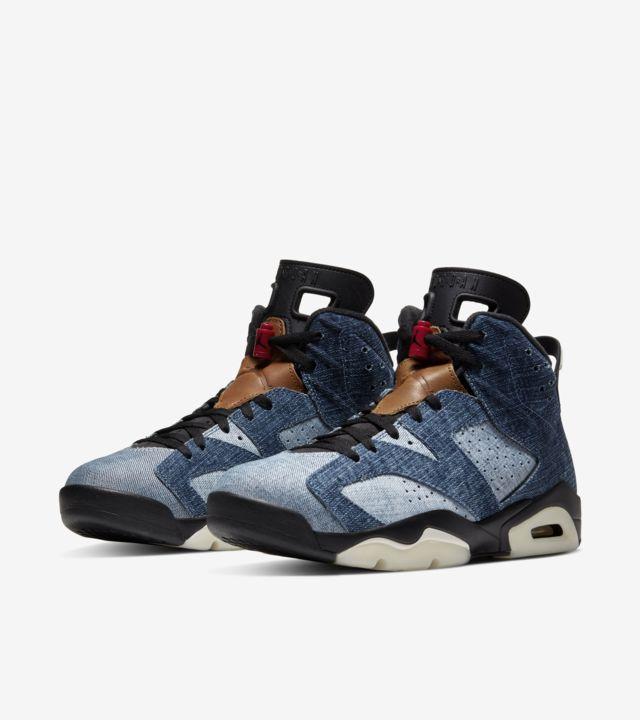 Air Jordan 6 'Washed Denim'