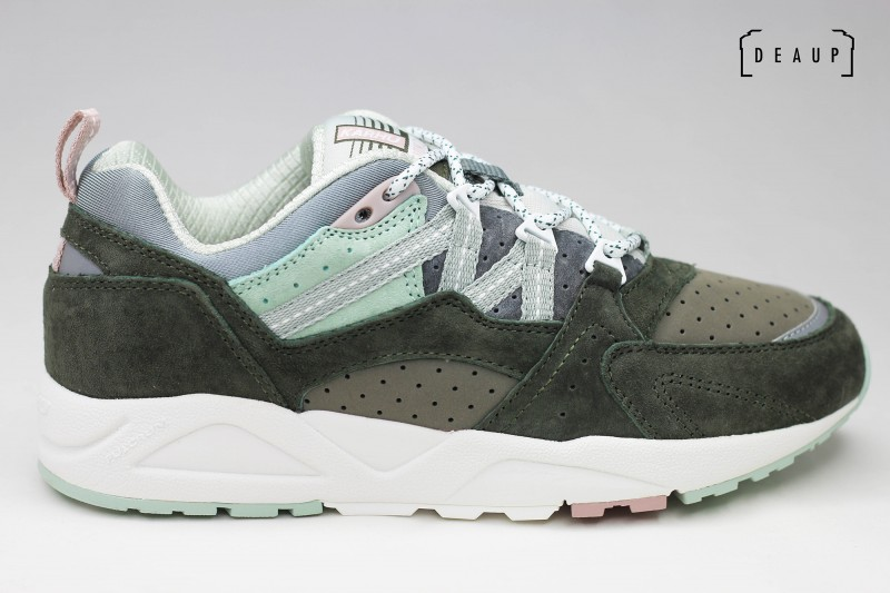 KARHU FUSION 2.0 'FOREST GREEN / AQUA GRAY' Top 10 DEAUP