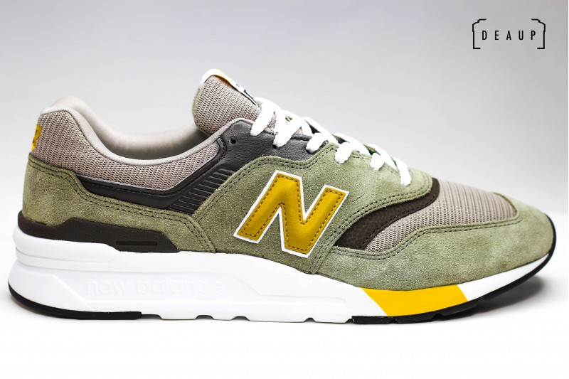 NEW BALANCE CM 997 HEZ 'GREEN / GOLD' top 10 DEAUP
