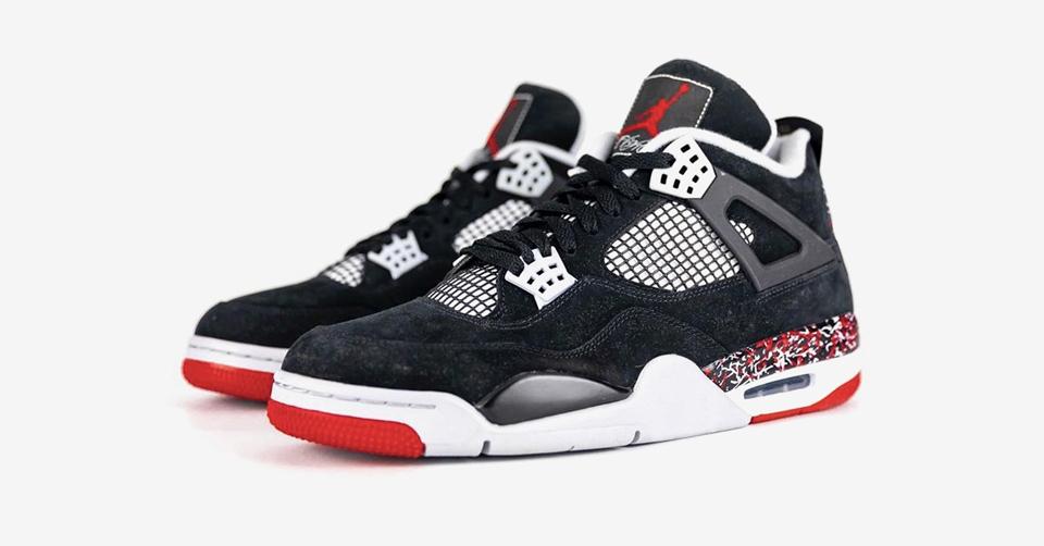 De Canadese rapper Drake heeft de Air Jordan 4 een opvallende make-over gegeven