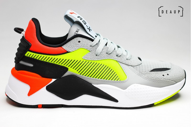 PUMA RS-X HARD DRIVE 'HIGH RISE / YELLOW ALERT' Top 10 DEAUP