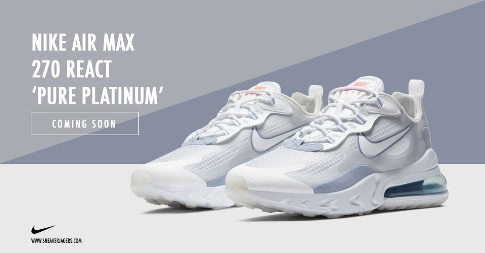 De populaire Nike Air Max 270 React gaat in een nieuwe