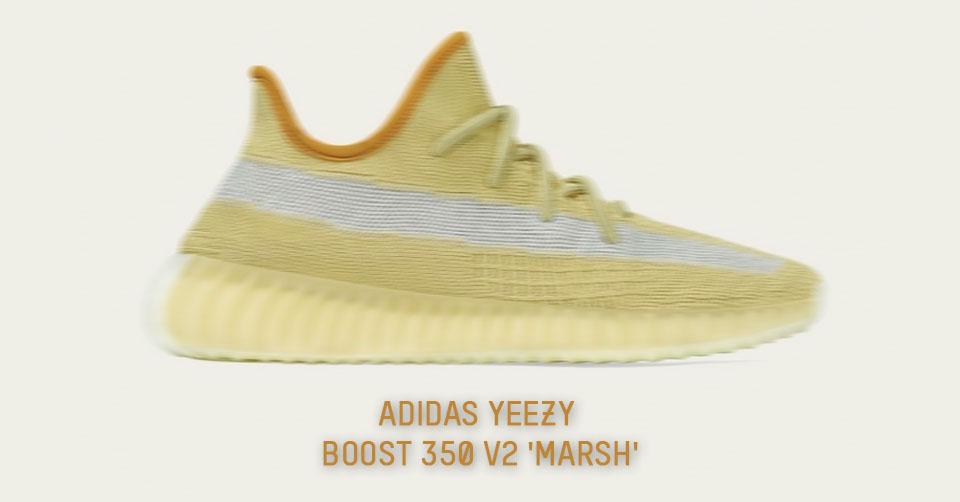 De releasedatum van de adidas Yeezy Boost 350 V2 'Marsh' is
