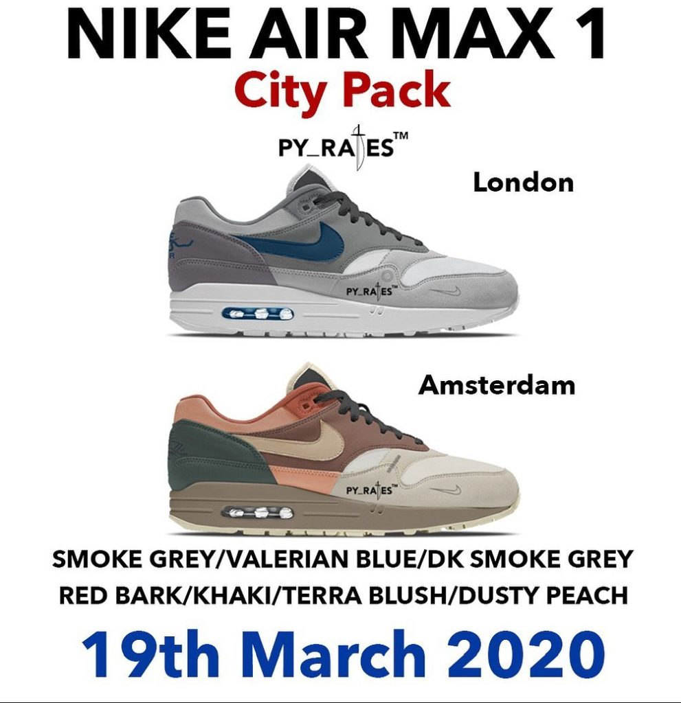 UPDATE! Er droppen twee nieuwe Air Max 1 colorways in maart ...