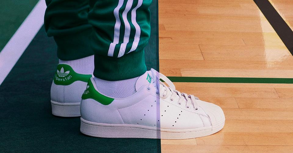 adidas brengt 2 klassiekers samen tot een nieuwe sneaker