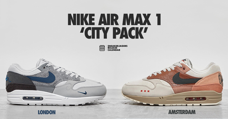 UPDATE! Er droppen twee nieuwe Air Max 1 colorways in maart
