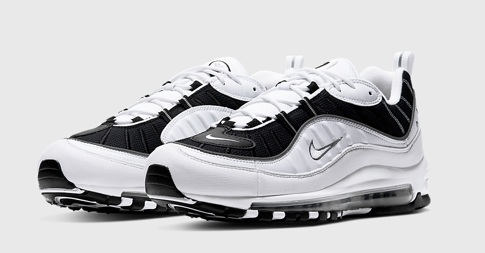 Nike Air Max 98 'Black & White'