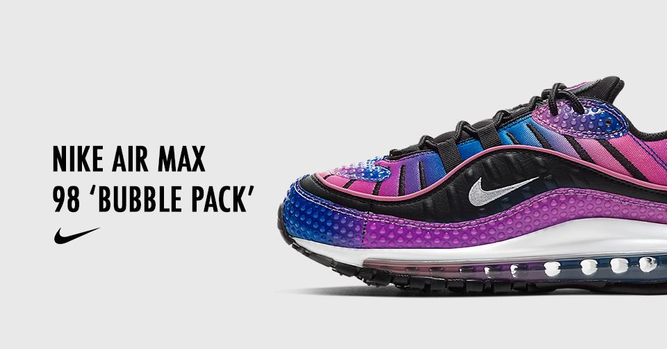 De nieuwe Nike Air Max 98 'Bubble Pack' komt binnenkort uit