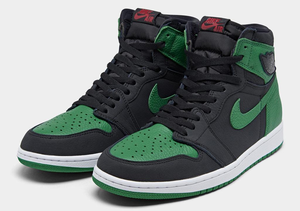 Release reminder Air Jordan 1 Retro High 'Pine Green ...